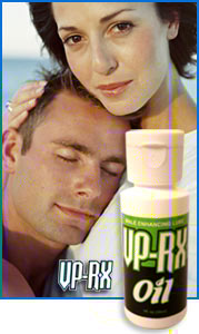 VP-RX Oil is an all natural herbal based penis enlargement male enhancement augmentation technique that requires no pumps, exercises or vitamins. Unlike VP-RX Virility Pills, it's results are more immediate but are only temporary per each application and must be used each time for best results.